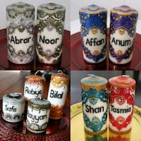 Personalized candle sets Mississauga