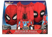Spider man 2-in-1 Boys Reversible Costume( 4-6years old) トロント, M4C