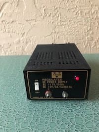 12 Volt 3 Amp Home Bench Regulated Power Supply Davie, 33324