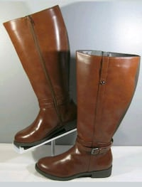 NEW: Women's 13W American Eagle Knee High Boots wi