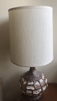 Antique MCM lamp - add warmth and a touch of groovy to any room! Toronto, M5T