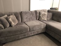 Gray Sectional with Chaise Alexandria, 22301
