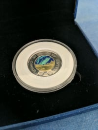 Northern lights Canadian coin(never touched) Scarborough, M1B