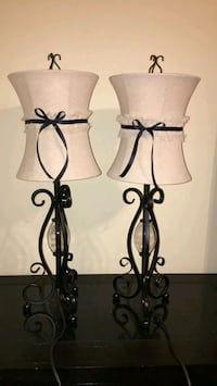 black metal framed candle holders McAllen, 78503