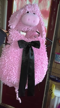 Little Girls Pink Piggy Costume