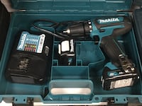 "Makita 12V Max CXT 3/8"" Drill with 2 batteries and charger BRAND NEW  Lindenhurst, 11757"