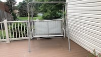 Gray metal framed swing bench Ijamsville, 21754