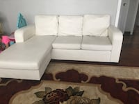 Condo size white sofa condition 10/10 price $400 or best offer  Mississauga