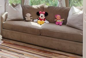 Sofa duo mocha-from Macy's.Purchased price: $1,255.Excellent Condition