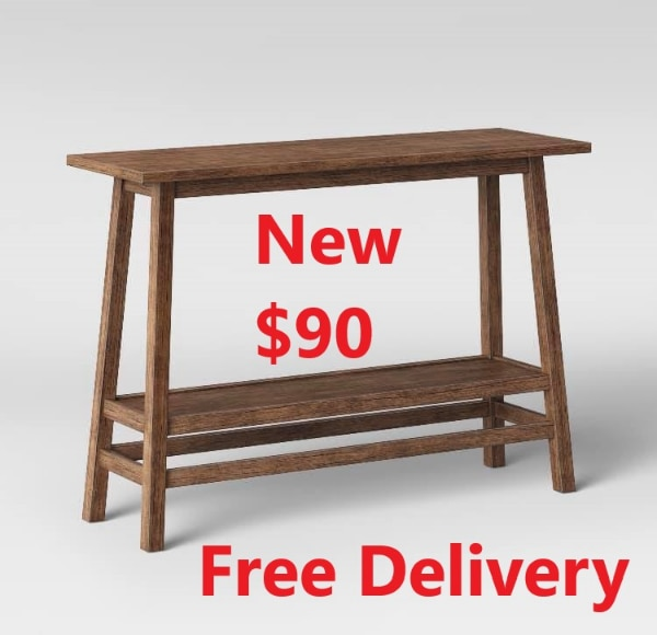 Peachy New In Box 42 Inch Console Table Delivery Available Machost Co Dining Chair Design Ideas Machostcouk