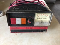 black and red power generator