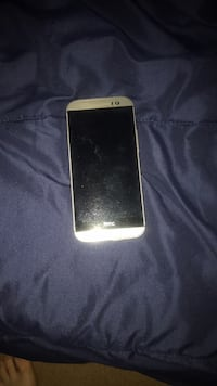 white HTC Android smartphone