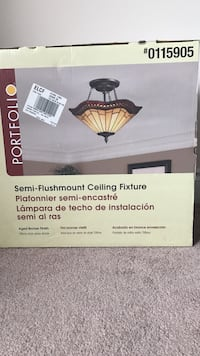 Portfolio semi-flushmount ceiling fixture new Richmond Hill, L4S 2S7