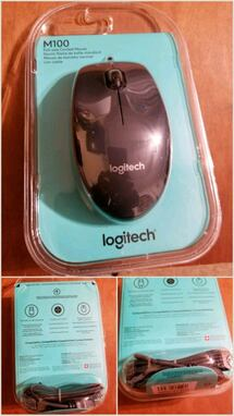 Logitech wired mouse. new