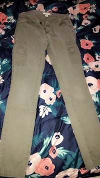 Blue and white floral pants Redding, 96001
