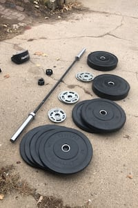 Olympic Weightlifting Setup
