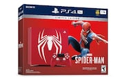 Spider-Man ps4 bundle extremely rare  Milton, L9E 8S4