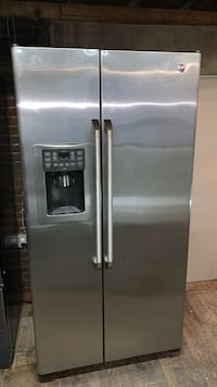 Ge cafe refrigerator stainless steel used  Allentown, 18102