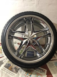20 inch chrome wheels with tires 245/35ZR/20 Chicago, 60629