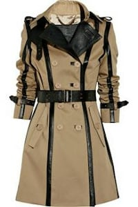 Trench-coat marron et noir WOMEN'S