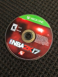 Xbox one nba 2k17 disc 2199 km