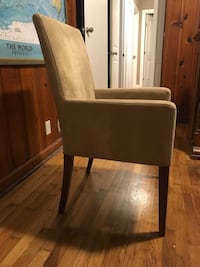 2 pottery barn chairs. Great condition. Dark walnut legs. Will deliver for small additional fee. Kennesaw, 30144