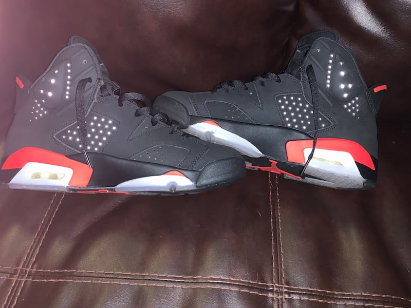 Infrared 6s sz9.5  0