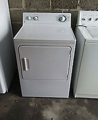 white front-load clothes dryer reconditioned guran 92 mi