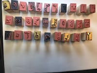 Assorted Calligraphy Stamps Ashburn