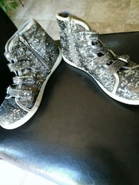 Glittery high top shoes El Paso, 79938