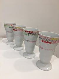 Pedestal Footed Ice Cream Cups: Set of 4 Toronto, M1S 2Y8