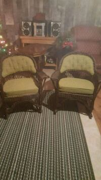 antique wicker chairs Chatham-Kent, N8A 3S8