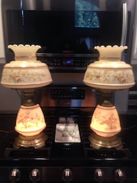 White and brown ceramic table lamp Toms River, 08753