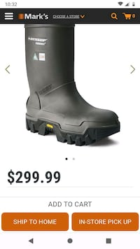 Brand new Dunlop vibram insulated dielectric work boots Vancouver, V5M 1P1