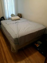 white bed sheet with pillows Queens, 11103