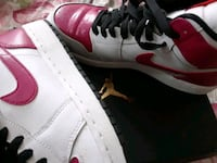 Pink and white and red Air Jordan 1 Philadelphia, 19104