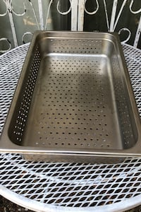 Large stainless commercial cooking tray  Biloxi, 39531