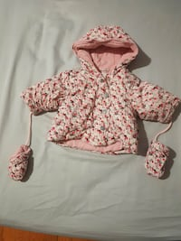 BNWOT Motion Baby Girls 3-6m Jacket with Gloves Mississauga