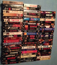 Large lot VHS tapes Edmonton, T6L 6P5