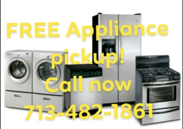 Used Free appliance pickup for sale in Tomball - letgo