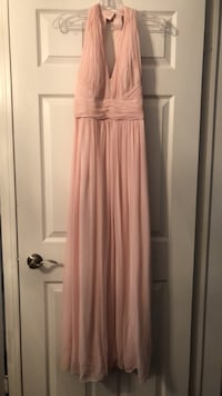 Dessy Collection- blush evening gown - size 4 Halton Hills, L7G 0E1