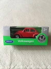 WELLY maqueta Volkswagen Beetle (hard top) 1:60 Madrid, 28020