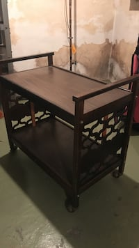 Bar cart/TV stand