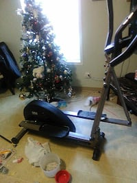 black and grey elliptical trainer Edmonton, T5B 2G5