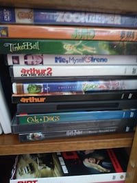 assorted-title DVD case lot Concord