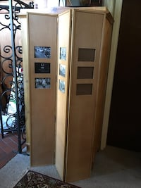 Floor Screen / Privacy screen with photo placements