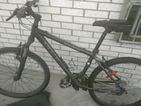 black and gray hard tail mountain bike Toronto, M4C 5A2