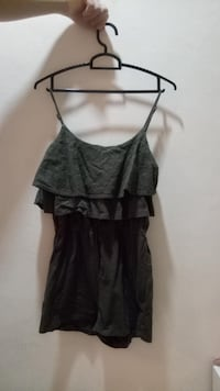 Dark Green jumpsuit 芽笼, 389565