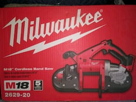 Milwaukee M18 Cordless Band Saw....TOOL ONLY!!!
