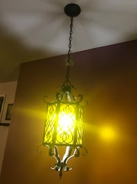 Vintage hanging ceiling light
